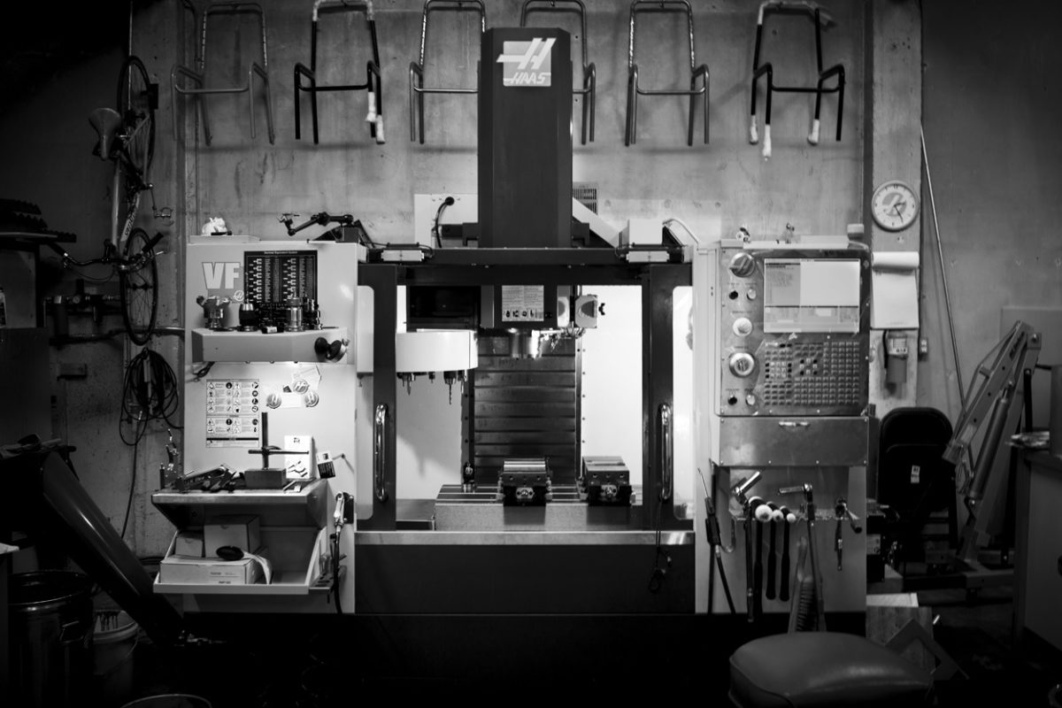 image of cnc mill