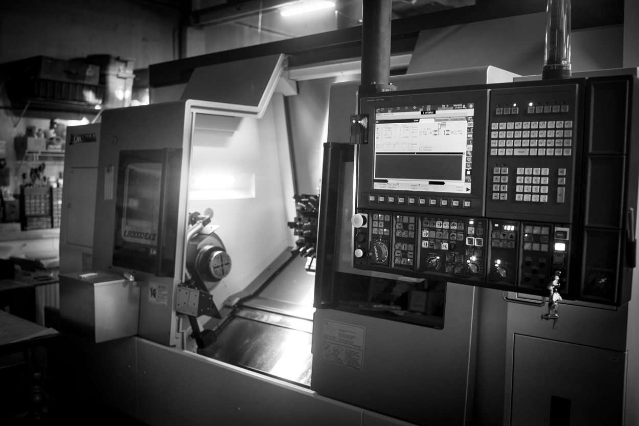 image of cnc lathe